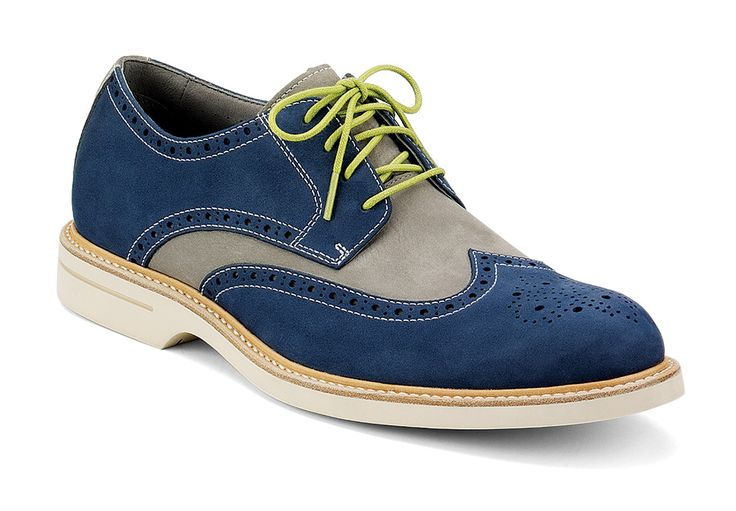 Sperry Top-Sider Wingtip Oxford Shoes in Colors for Men • Selectism