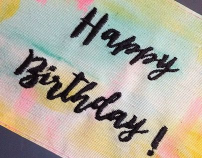 """Check out new work on my @Behance portfolio: """"Hand Painted Embroidery Cards"""" http://be.net/gallery/38505403/Hand-Painted-Embroidery-Cards"""
