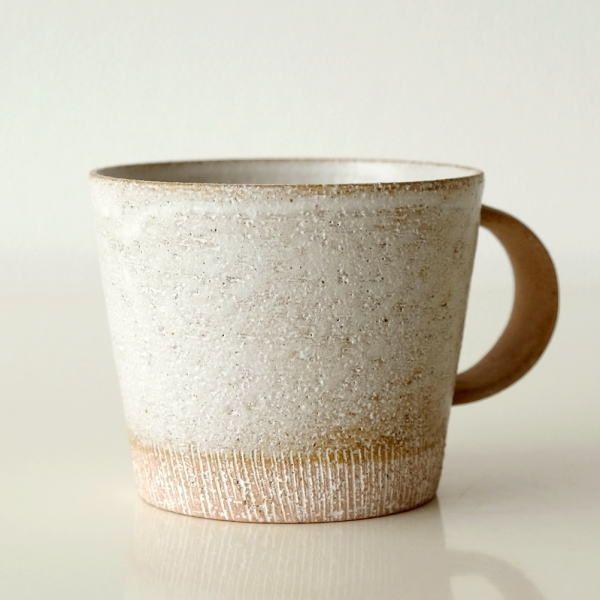 マグカップ おしゃれ コーヒーカップ ナチュラル 大きい カフェ風 美濃焼 麦色ビッグマグ Kyt2955 コーヒーカップ マグカップ セラミックカップ