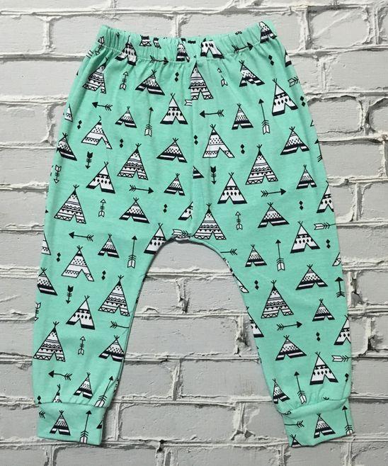 Aqua Harem Tepee Harem Pants - Infant & Toddler