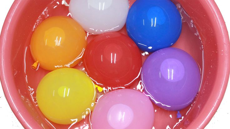 Balloons finger family | Rainbow Wet water Balloons | Learn colours Fing...