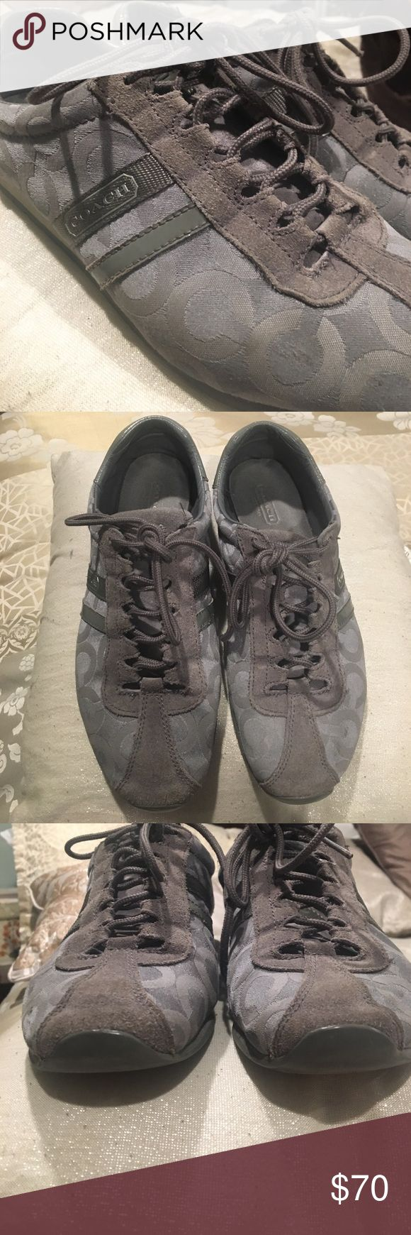 Coach sneakers! In good conditions, used Coach sneaker, well taken care of. Coach Shoes Sneakers