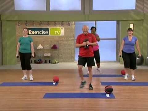 """""""Make Me Over""""  (40 Minute Workout Video) by Exercise TV on youtube...I like that this video doesn't have the typical skinny, scantily clad super models as participants...very effective"""