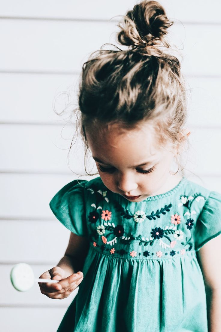 I can't wait for brielle's hair to be long enough for tiny messy buns!