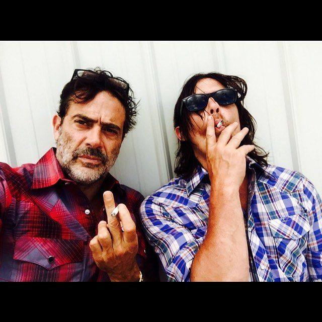 Pin for Later: Norman Reedus and Jeffrey Dean Morgan's Bromance Is the Stuff of Legend  Related Stories:It's Negan's Way or the Highway in the New Season 7 Trailer For The Walking Dead