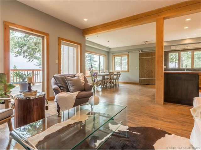 Open Concept Okanagan Lakehouse, Raw Fir Post and Beam, Interior Design and Build by Jason and Aida of StudioSoap.