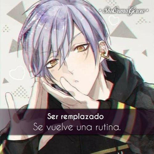 anime frases anime frase sentimientos ShuOumaGcrow sad
