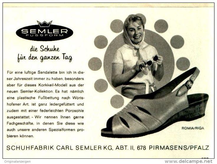 Original-Werbung/ Anzeige 1967 - SEMLER SCHUHE PIRMASENS  - ca. 120 x 80 m