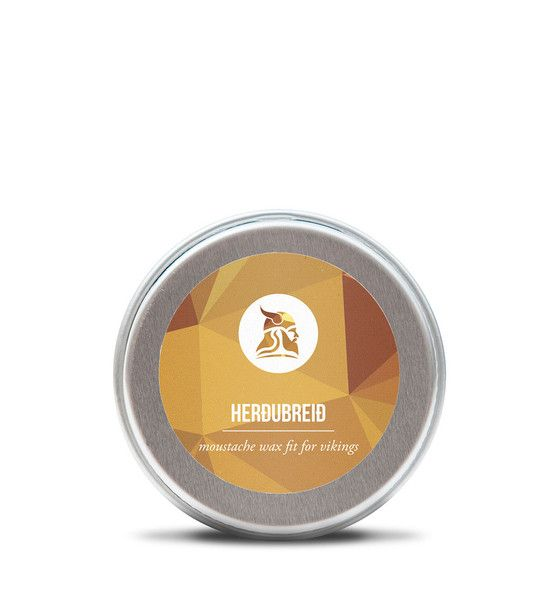 This moustache wax is as energetic and refreshing like the winds that blow all around Herðubreið, the mountain the wax is named after.