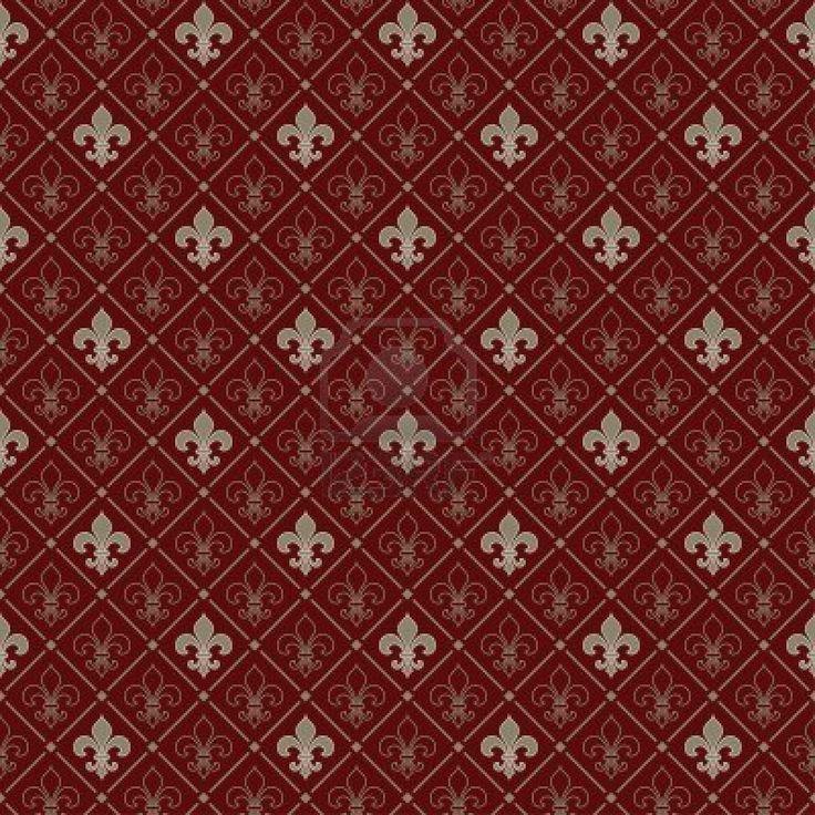 fleur-de-lis seamless pattern Stock Photo - 5387399