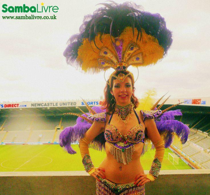 #Brazilian #samba #dancers #Brazil #dance #Rio #carnival #SambaLivre #SambaLivreLiverpool #events #parties #weddings #festivals #Liverpool #Manchester #NorthWest #WorldCup2014 #Brazil2014 #showgirls #hostesses #entertainment #entertainers #performers #show #sambashow #SportsDirect #football #soccer #StJamesPark #NewcastleUnited #Newcastle #costumes #fashion #headdresses #feathers www.sambalivre.co.uk