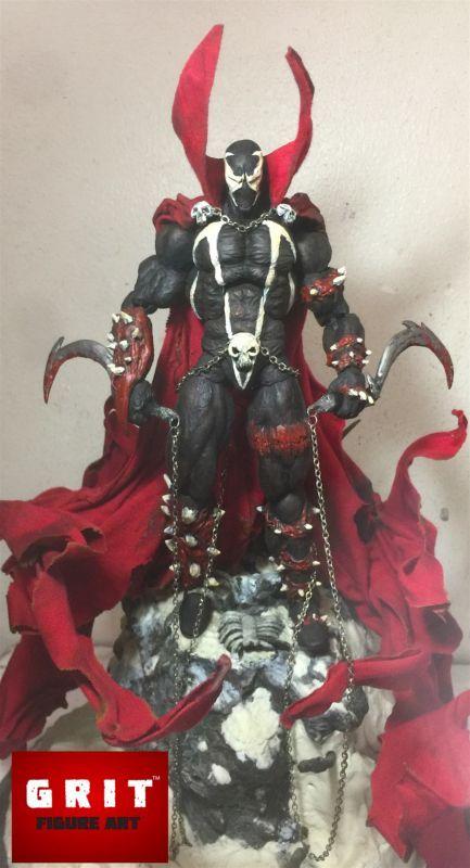 Spawn version 4 (Marvel Legends) Custom Action Figure