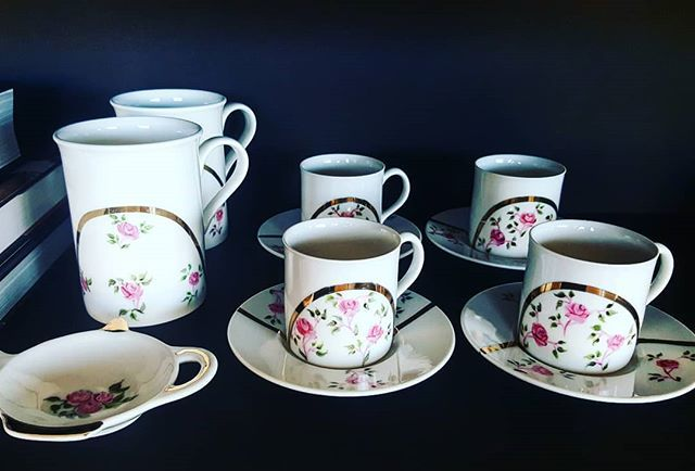My earliest & most successful designs! Also now a classic due to their high demand 💖 #LinaAsmar . . . . . #Handpainted #teatime #coffeecupset #mugs #customised #customorder #giftidea #artwork #artdelatable #artdevivre #luxuryhomes #tabledecor #tableescape #interiordesign #accessories #beauty #fashion #celebration #gift #lifestyle - posted by Lina Asmar Art De La Table https://www.instagram.com/linaasmar - See more Luxury Real Estate photos from Local Realtors at…