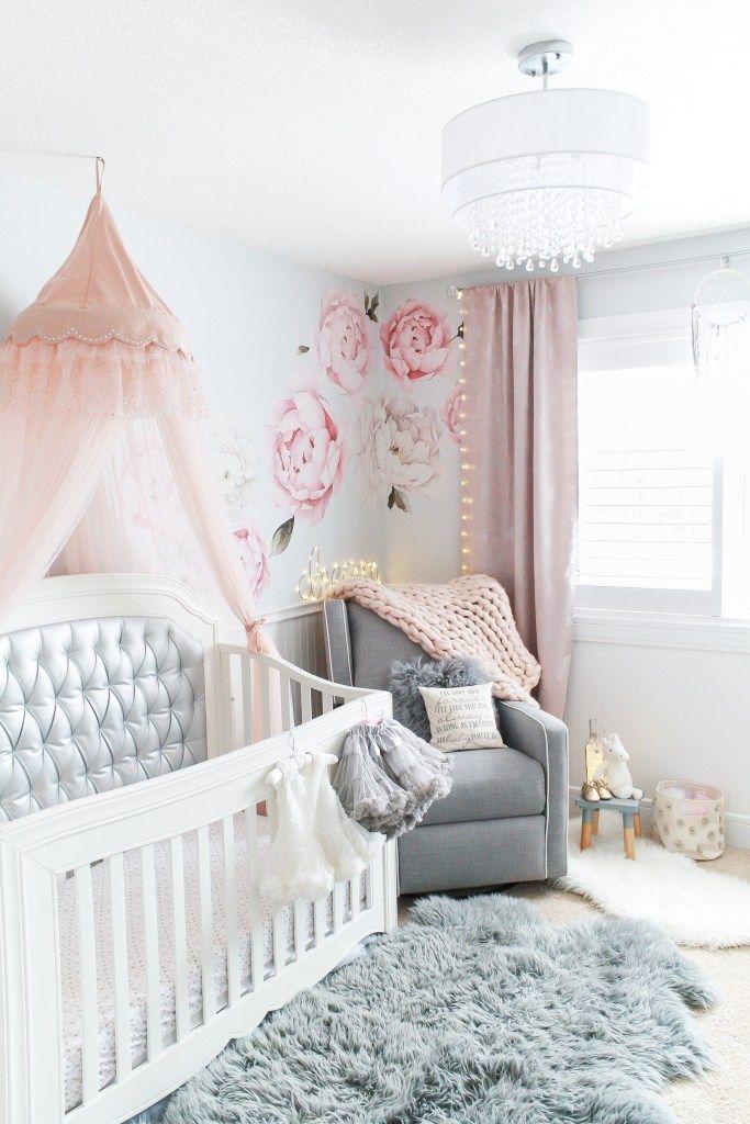 Swoon Worthy Christmas Gift Guide Baby Girl Nursery Pink Pink Crib Baby Girl Nursery Room