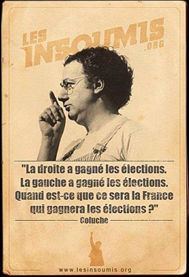 QUELLE   FRANCE MAROC                                                                              Coluche!