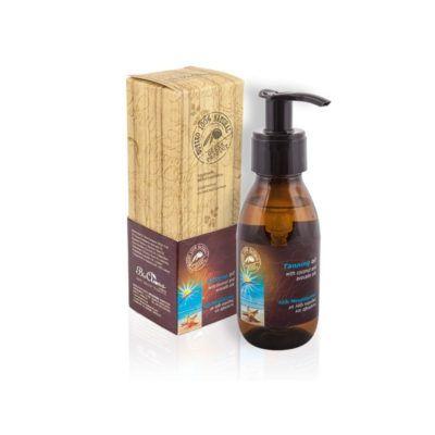 Olijfolie aftersun body spray. Verzorgende olie voor na het zonnen.