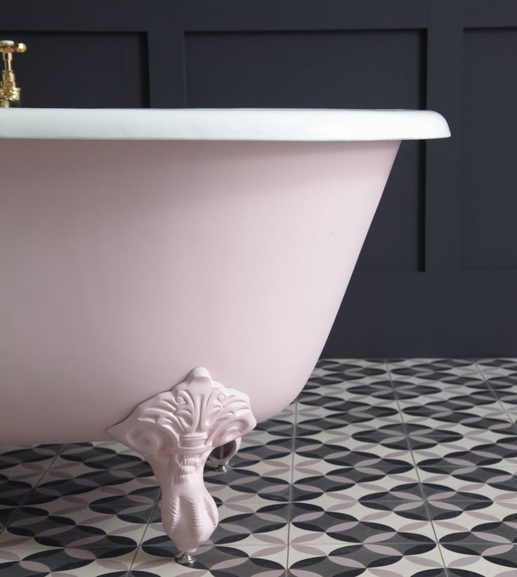 Blushing Pale Pink Bathroom Ideas