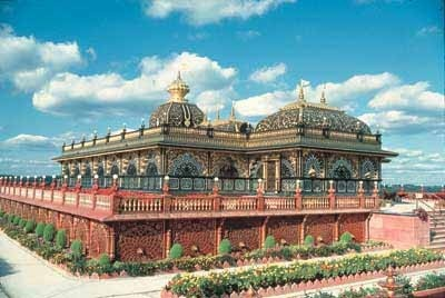 Prabhupada's Palace of Gold is found in New Vrindaban, W.V. The former temple was built by followers of Srila Prabhupada, who was known for his work in the Hare Krishna movement. In West Virginia?!