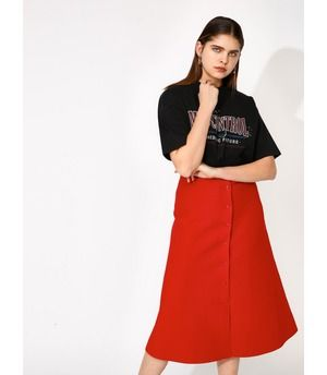 LONG FLARE ニットスカート|シェルター公式通販サイト|SHEL'TTER WEB STORE【MOUSSY】