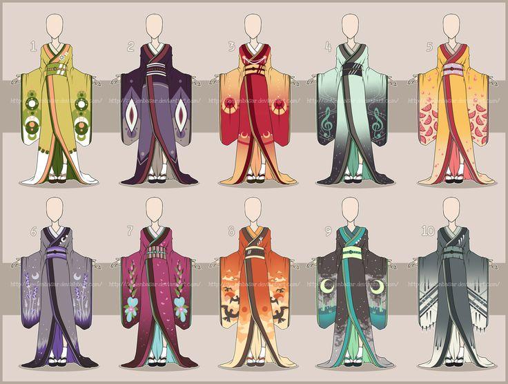 ...All the Kimonos... Adopts [OPEN] 1/10 by Seelenbasar ...