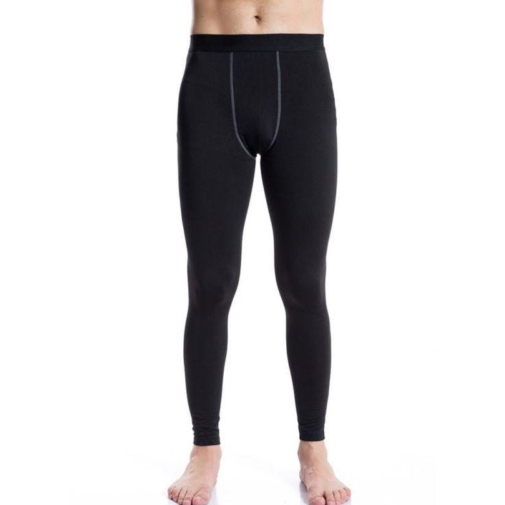 Männer compresion quick dry warm long johns hose thermische basis schicht dicke underwear