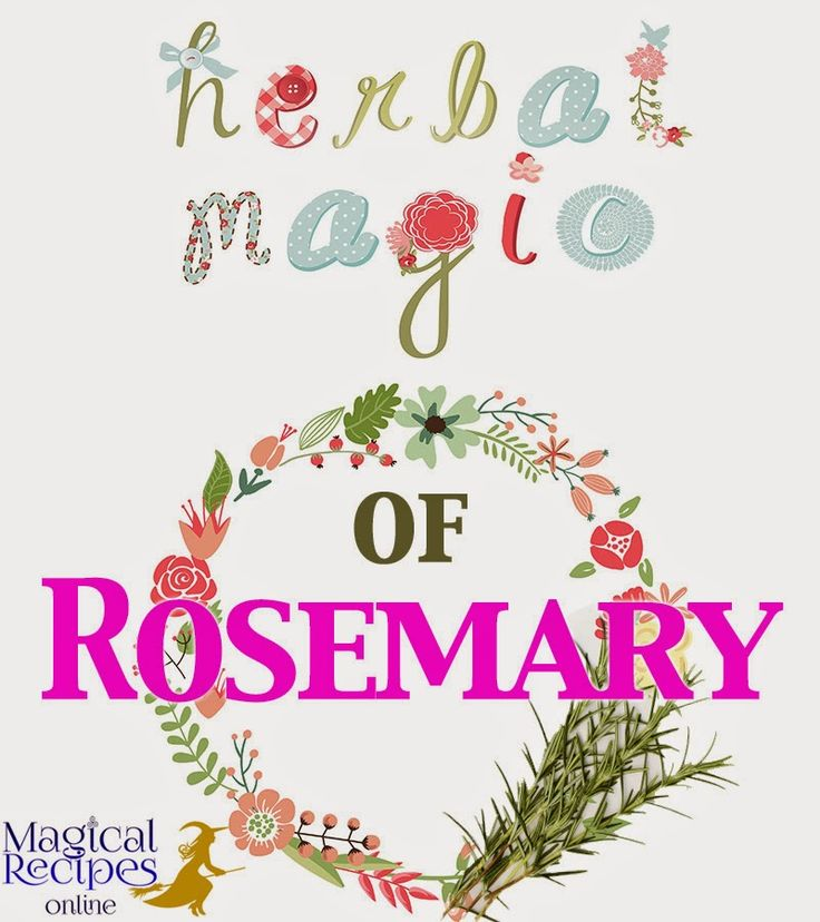 Herbal Magic: Analysis, Correspondences, correlations,  magical attributes, abilities and powers of Rosemary, the Dew of the Sea
