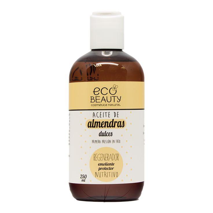 El aceite de almendras dulces es un complemento cosmético perfecto ya que puede ser utilizado como emoliente o como base de otros aceites vegetales.