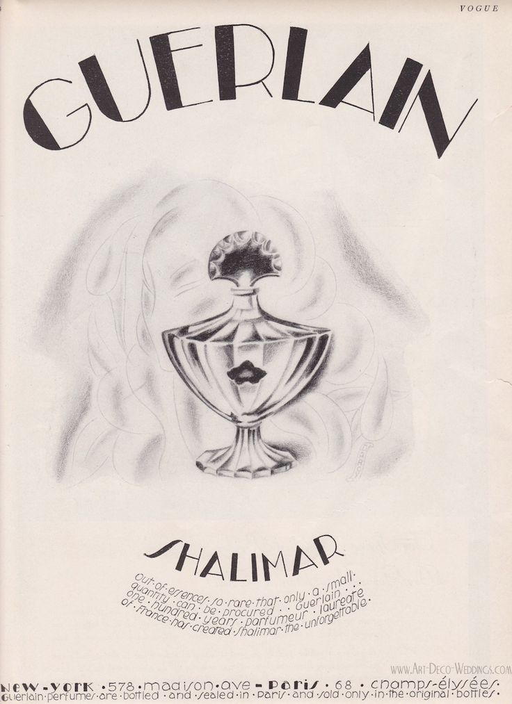 Soooooo reminds me of my momma,never wore anything BUT...Vintage Advertising || Guerlain Shalimar