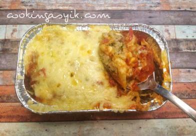 Mozzarella Baked Rice – repost dari facebook