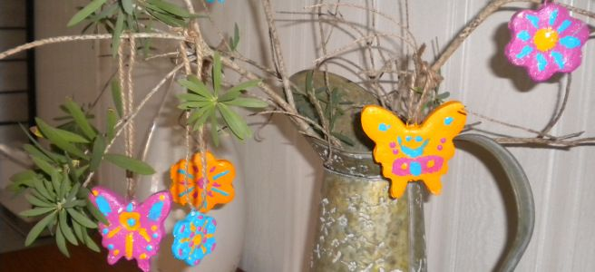 Easter hanging decorations