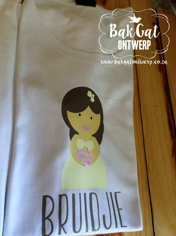 Personalised clothing #bride