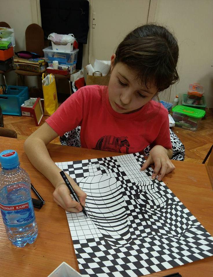 процесс работы) Василиса 10 лет