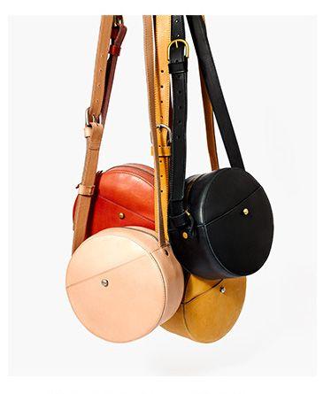 circle crossbody bags