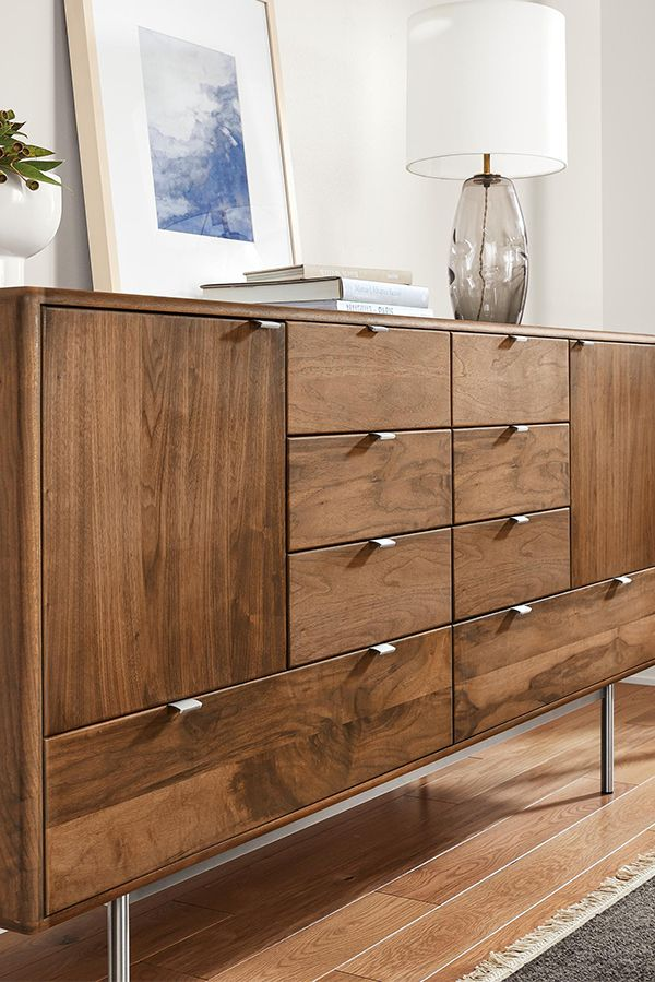 Modern Wood Dresser Small Space Bedroom Furniture Small House