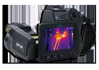 FLIR T600-Series      The FLIR T640 / T620 combine the ergonomics and flexibility of the FLIR T-Series with the extremely high image quality of the P-Series. The FLIR T640 / FLIR T620 offer a crisp thermal image of 640 x 480 pixels on which the smallest of details can be seen. An intuitive user interface supported by state-of-the-art touch-screen technology make the FLIR T640 / FLIR T620 extremely easy to use.