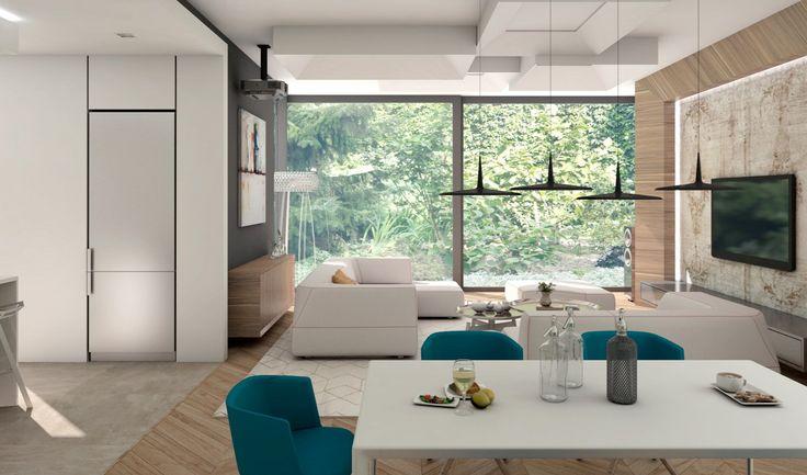Fiatalos, modern, stílusos – ilyen egy igazi álomotthon! Sorozatunk következő részében egy óbudai panorámás családi ház kulisszái mögé lestünk be Szén Molnár Tamás belsőépítész