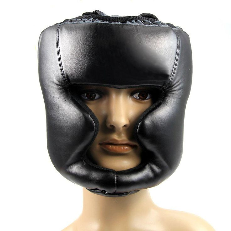 Professional Fitness Sport Safety Helmet MMA Head Guard Gear Sparring Protector