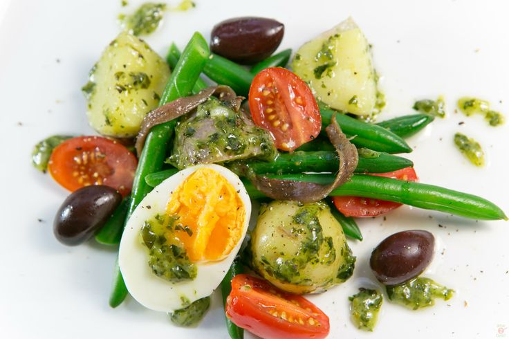 Potato, Green Bean & Egg Salad