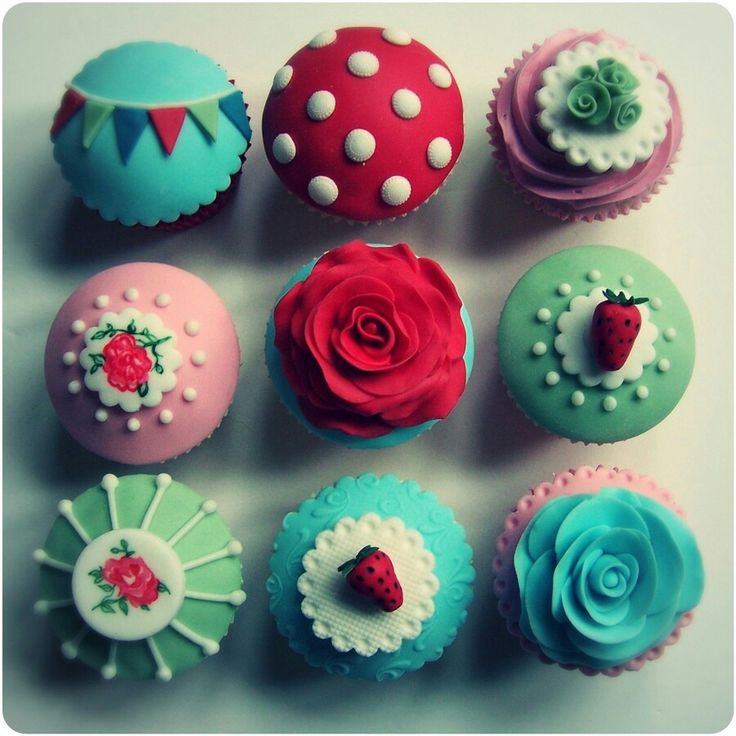 Cupcake picture for kitchen
