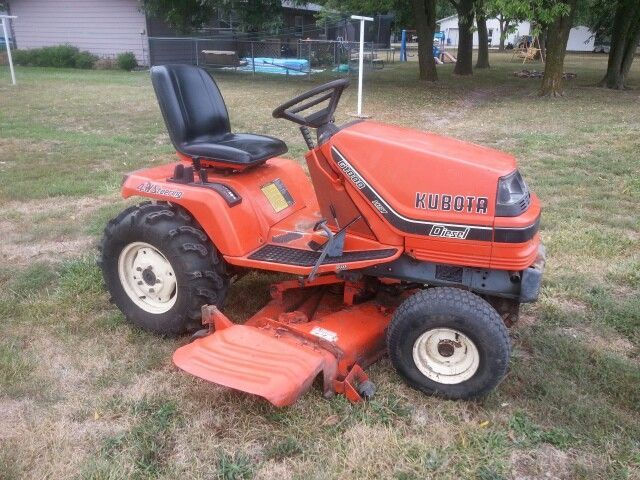 Kubota G1800 Lawn Mower Diesel  With Images