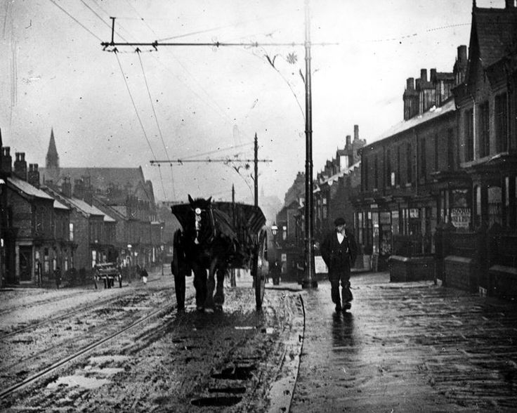 Abbeydale Road Sheffield Night Soil Cart c1900-1919