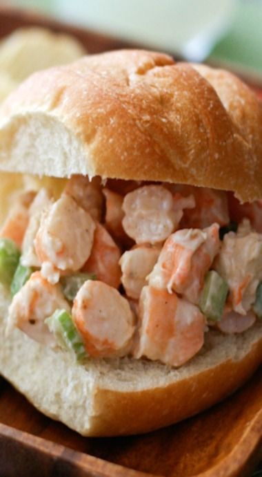 Shrimp Salad - simple ingredients, perfect summer meal! || aggieskitchen.com