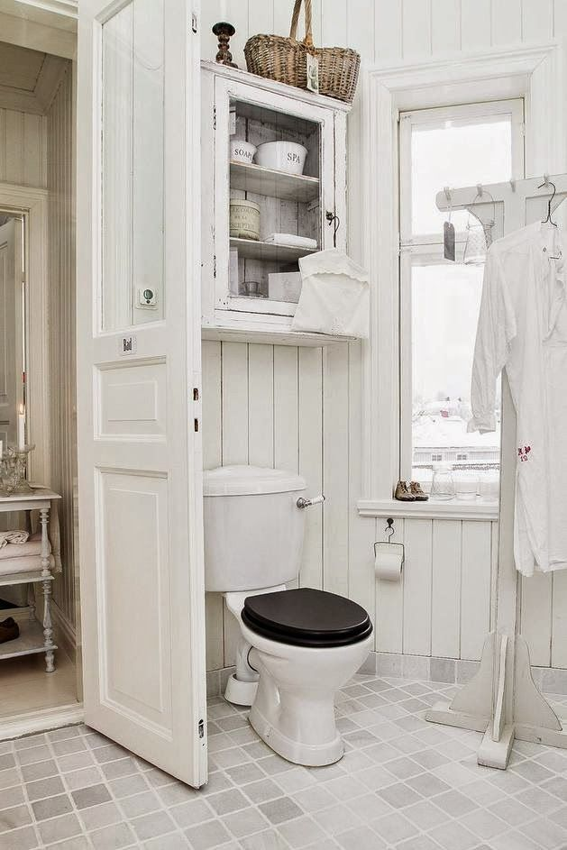 This Is The Cabinet I Want Above Both The Toilets! Find This Pin And More  On Shabby Chic Bathrooms ...