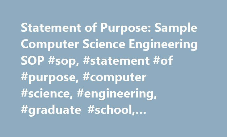 statement of purpose 26 essay Sop writing is really easy with our help ☆ we the statement is a long essay graduate school statement of purpose writing a statement of purpose isn't.