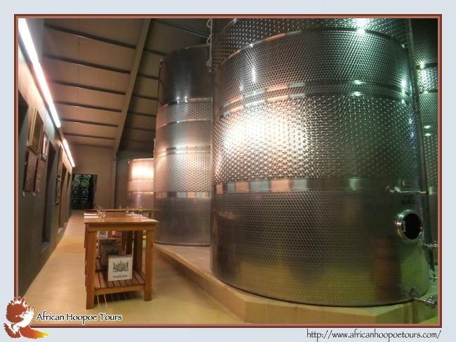 Fairview Wine Estate behind Paarl