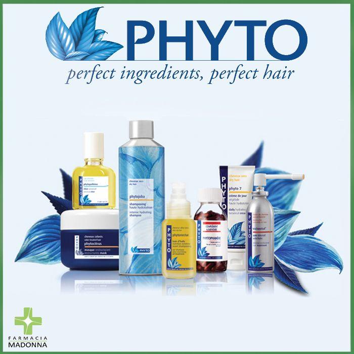 Nella nostra farmacia puoi trovare i prodotti Phyto Italia, un marchio che propone una risposta specifica per ogni tipo di esigenza dei tuoi capelli.  #farmaciaallamadonna #farmacia #mestre #phyto #salute #capelli