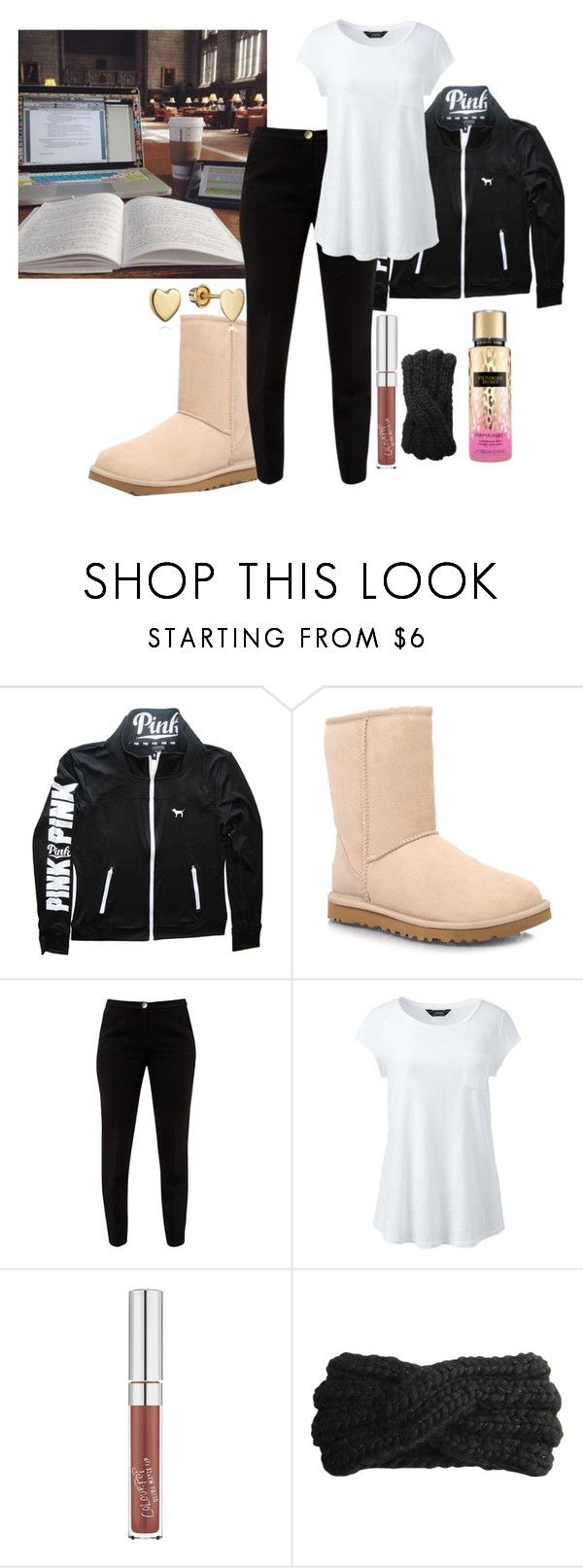 """""""Untitled #667"""" by shaniaa093 ❤ liked on Polyvore featuring Victoria's Secret, UGG Australia, Ted Baker, Lands' End, Eugenia Kim and plus size clothing"""