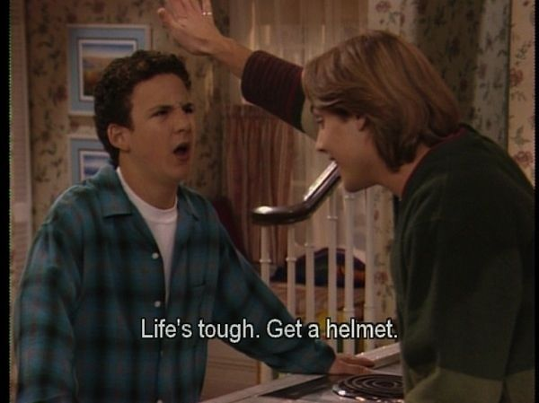 <b><i>Boy Meets World</i> taught us pretty much everything we need to know about life.</b> Here are 18 specific things.