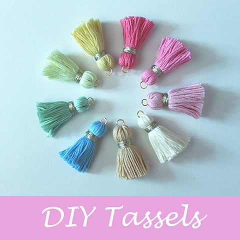 DIY Tassel - Tutorial ❥ 4U // hf