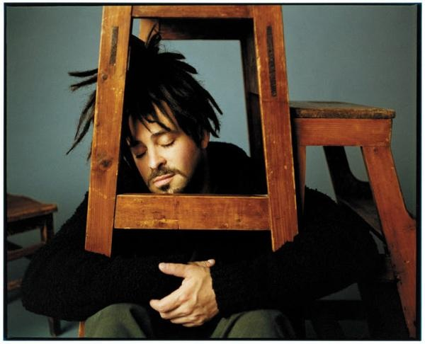 Adam Duritz from the Counting Crows